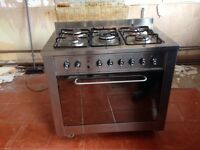 Indesit 5 burner and oven