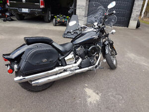 2006 Yamaha XVS1100 Vstar Custom 1100 Midnight edition V-star