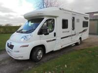 AUTOCRUISE STARTRAIL, 4 BERTH, FIXED BED, 4,976 MILES, ONE OWNER FSH, IMMACULATE