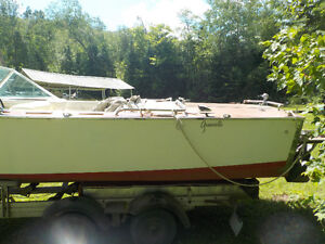 1972 18.5' Greavette with 6 chevy Mercruiser and trailer Kawartha Lakes Peterborough Area image 3
