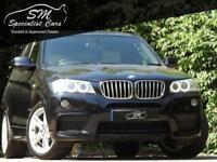 2011 61 BMW X3 3.0 XDRIVE30D M SPORT 5D AUTO 255 BHP DIESEL