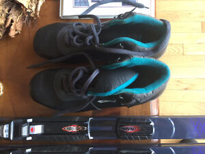 Cross Country Skiis, Boots, Bindings, and Poles, complete set. St. John's Newfoundland image 3