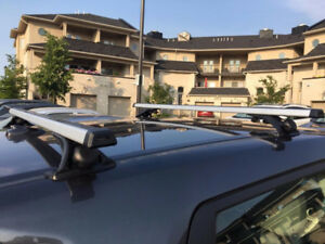 Mazda Aluminum Roof Racks luggage rack crossbars $160....  NEW I