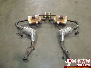 Porsche Boxster 986 Exhaust System Muffler Catalyser OEM Headers