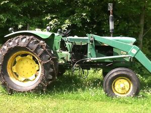 710 John Deere tractor