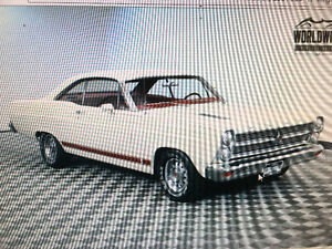 1966 FORD FAIRLANE 500 GT 4 SPEED 390   RARE