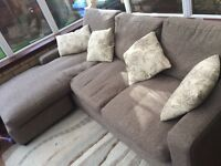 BEAUTIFUL CORNER L SHAPE SOFA