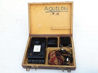 Vintage Chauvin Arnoux Paris France Electrical Resistance Ohm Meter