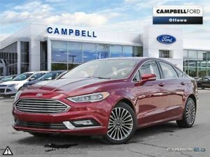 2017 Ford Fusion Titanium-BEST BUY-WARRANTY-AWD-LOADED