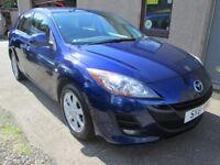 Mazda 3 1.6 TS2 12 MONTHS MOT, SERVICED, 3 MONTHS WARRANTY & AA COVER (blue) 2012