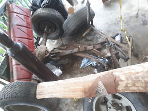 1967 ford f100 parts complete front and rear assembly