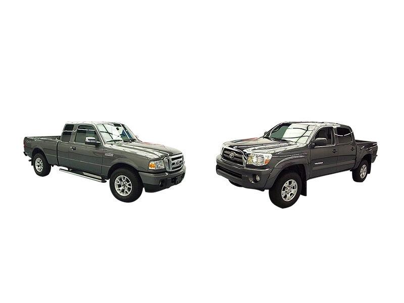 2010 toyota tacoma vs 2010 ford ranger ebay. Black Bedroom Furniture Sets. Home Design Ideas