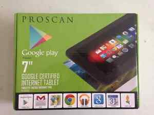 """GOOGLE PROSCAN 7"""" TABLET BOX PACKED"""