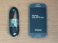 Perfect Samsung Galaxy Ace 4 in Black Fully Working Fourth generation Not SIIII s5 s4 s3 mini ace