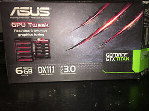 ASUS GEFORCE GTX TITAN 6GB DDR5