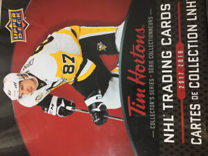 Trying to Complete My 2017-2018 Tim Hortons Hockey Cards