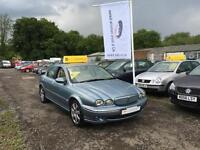 2005 05 Jaguar X-TYPE 2.0D Sovereign**133k MILES**SERVICE HISTORY