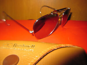 Bausch And Lomb Bushnell Shooter Aviator Sunglasses Vintage Rare