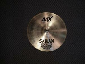 Sabian AAX Stage cymbale crash 16'' - usagée-used