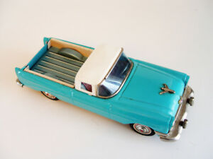 1955 Bandai Tin Friction Chevrolet Toy Pickup Truck