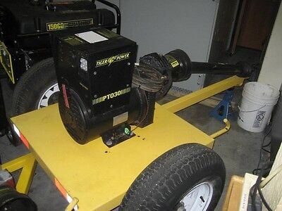 Tiger-power Pto30 30 Kw Trailer-mounted Pto Generator