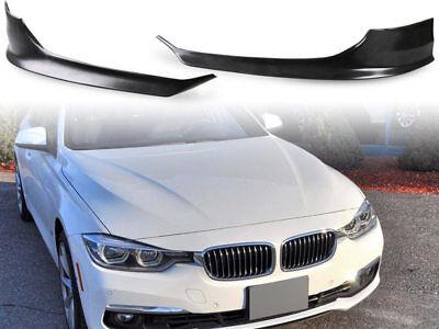 Spoiler Delantero Para BMW 3er Facelift Limo f30 Frontal Labio 2x Divisor...