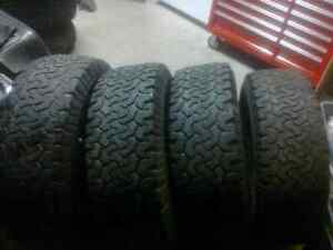 Set of 4 BFG All Terrain 30x9.5x15