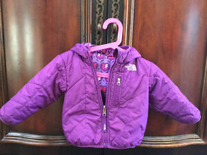 The North Face reversible Perrito girls Jacket