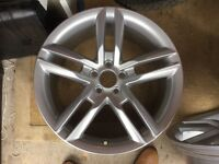 Audi A1 S-line Alloy wheel and tyre