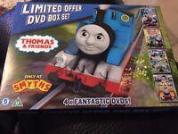 Thomas & Friends 4 DVD Boxset Thomas the Tank Engine