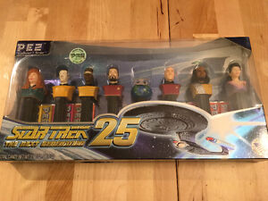 Star Trek:The Next Generation Ltd. Ed. Pez Collector's Series