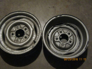 "Steel Rims to fit F-150 16"" tires. Make Me a Reasonable Offer."