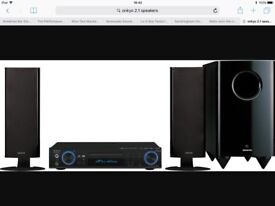 Onkyo 2.1 home theatre system