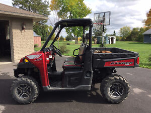 Polaris Ranger 900XP, power steering, winch