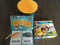 Toddler puzzles and blocks