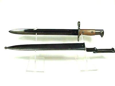WINCHESTER Model 1907 S1 Rifle KRAG Bayonet & Scabbard