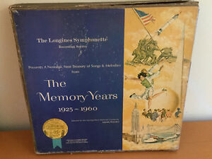 Record Set (6) - The Longines Symphonette Memory Years 1925-1960