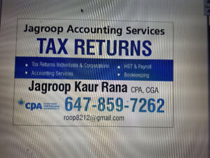 Tax return and accounting