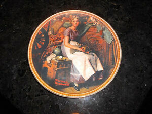 5 Norman Rockwell collectible plates **Make me an Offer**