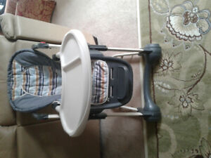 Baby high chair solid