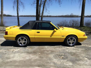 1993 FORD MUSTANG 5.0 LX SUPERCHARGED FEATURE EDITION