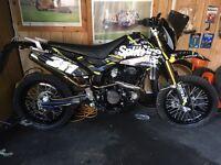 64 reg pulse 250 cc supermoto
