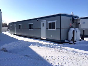 Office Trailers, Lunchrooms, Skidded Wellsite Cabins, New & Used