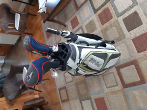 Ping pioneer golf bag and clubs