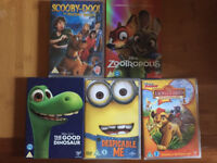 New - Disney DVD movies - Zootropolis and others