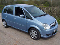 2009 59 Plate Vauxhall/Opel Meriva 1.6i 16v Easytronic Club , Only 45k With Fsh