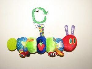THE VERY HUNGRY CATERPILLAR TEETHER RATTLE $5