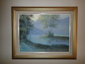 Original Landscape Painting - Beautifully Framed