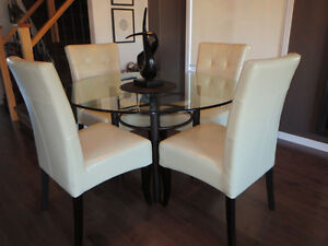 CONTEMPORARY Dining Chairs (4) - SET