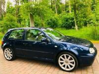 2002 Volkswagen Golf 2.8 V6 4MOTION 3dr HATCHBACK Petrol Manual